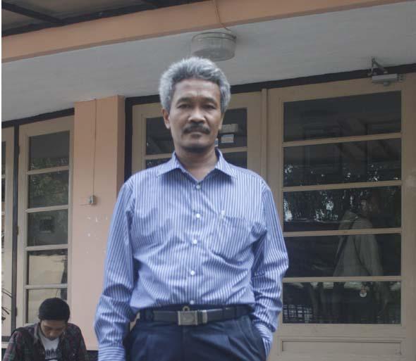 Drs. H. Pardimin, M.Pd., Kampus Pusat Universitas Sarjanawiyata Tamansiswa