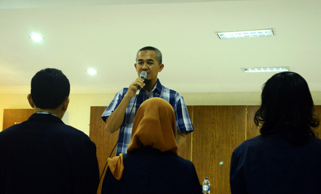 Wisasongko, Pembantu Dekan Fakultas Sastra Universitas Jember. Foto: dok. persmaideas.com