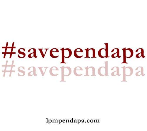 Slogan Dukungan Terhadap LPM Pendapa Tamansiswa. Dok.Pendapa
