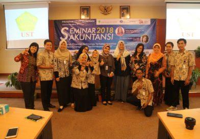 Program Studi Akuntansi: Adakan Seminar Akuntasi 2018